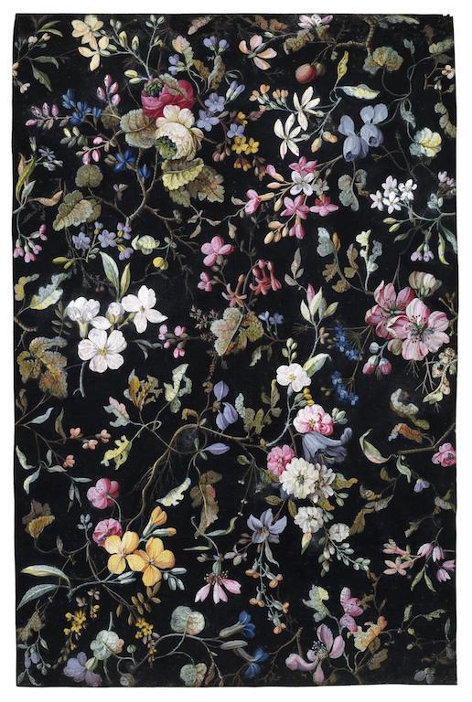 キルバーンの花柄
