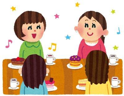 友人の誕生日にはケーキでお祝い