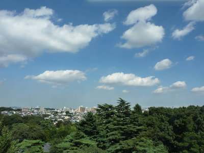 23号館からの眺望