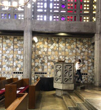東京女子大学のチャペル撮影